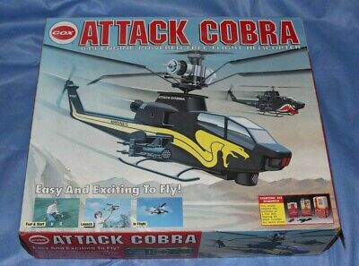 COX ATTACK COBRA  049 Engine Powered Free Flight Helicopter