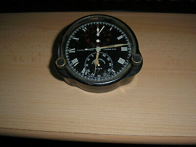 Smiths Time of Flight clock with seconds and minute chronograph Bentley Rallycar