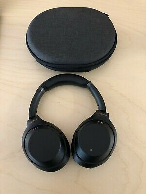 Sony WH-1000XM3 Wireless Noise Cancelling Headphones - Black - Barely Used