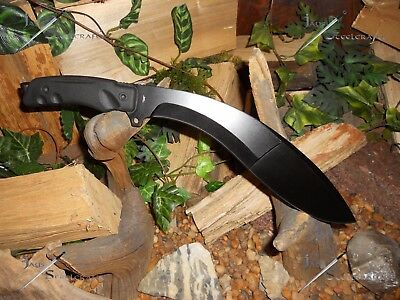 Kukri/Machete/Bowie/Knife/Heavy duty full tang 5MM thick/Combat/Survival/Camping