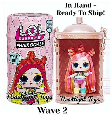 1 LOL Surprise Makeover Series 5 WAVE 2 Hairgoals Doll Sister Ball Boys Sparkle