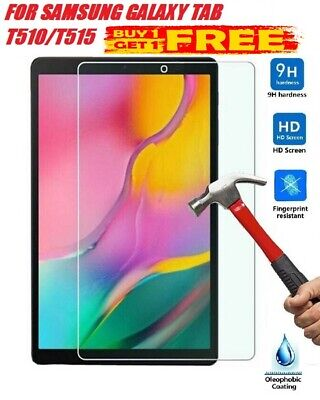"""REAL Tempered Glass Screen Protector For SAMSUNG Galaxy Tab A SM-T510 -10.1"""" 2PK"""