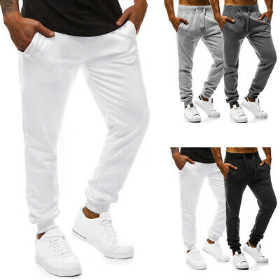 2019 Men's Jogger Sweatpants Workout Running Slim Fit Sports Trousers For Gym