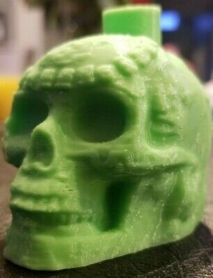 Green Aztec Death Whistle-the disturbing sound can not be forgotten 3D Printed