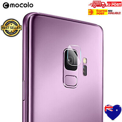 Samsung Galaxy S9 Back Camera Lens Tempered Glass Screen Protector Clear Images