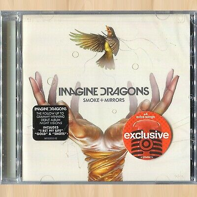 +4 BONUS TRACKS----> IMAGINE DRAGONS  Smoke + Mirrors TARGET CD The Unknown 0109