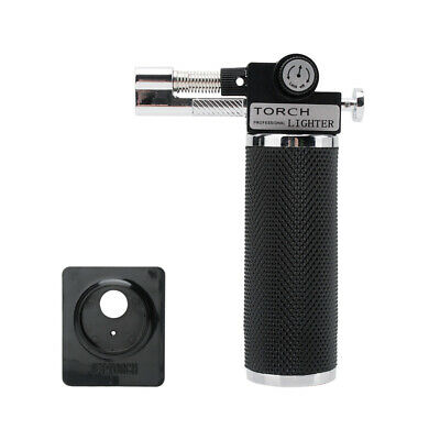 Windproof Butane Torch Lighter Gun Thrust Jet  Welding Adjustable Flame For Bake