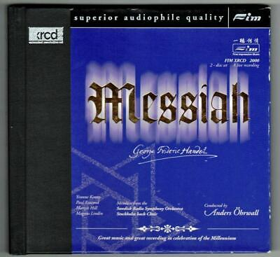 HANDEL:Messiah-Live-Ohrwall/Swedish Radio/Yvonne Kenny-XRCD/2-FIM-2CD-JAPAN-OOP!