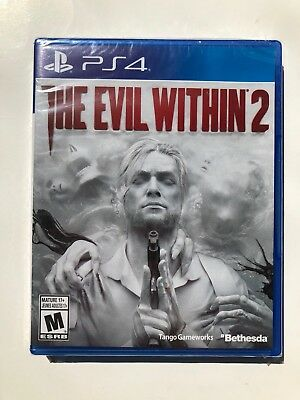 Evil Within 2 (Sony PlayStation 4, 2017) Brand New! Sealed!