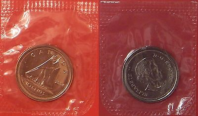 Proof Like 2004P Canada 10 Cents Sealed in Cello