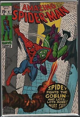 Amazing Spider-Man 97 nice Mid-High Grade Beauty!! 1st No Code issue