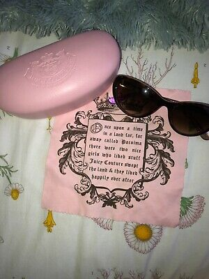 new, Juicy Couture, sunglasses, in mint condition (never worn)