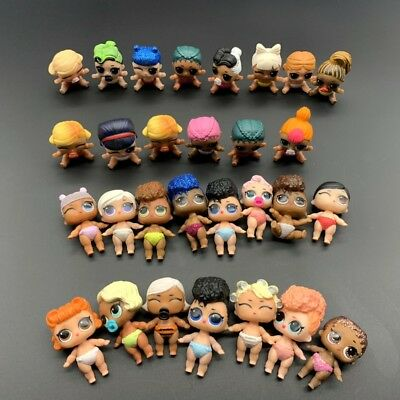 Random 5Pcs LOL Surprise Doll Lil Sister series 2 3 4 collection toy - no repeat