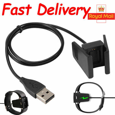 USB Charging Cable For Fitbit CHARGE 2 Fitness Tracker Wristband Car Charger