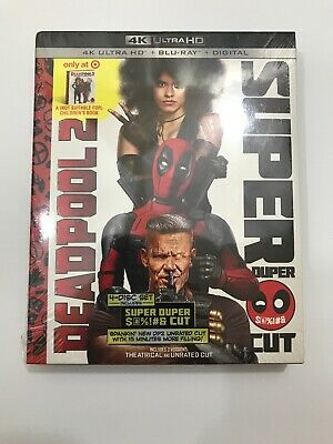 Deadpool 2 (4K/UHD + Blu-ray + Digital UHD + Book), Target Exclusive New