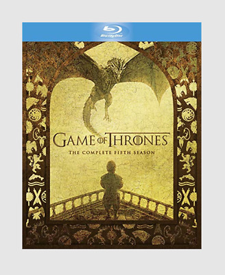 Game of Thrones: The Complete Fifth Season Blu-ray Adventure/Fantasy Series