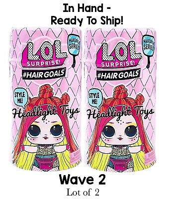 2 LOL Surprise Makeover Series 5 WAVE 2 Hairgoals Doll Ball Boys Sparkle In Hand