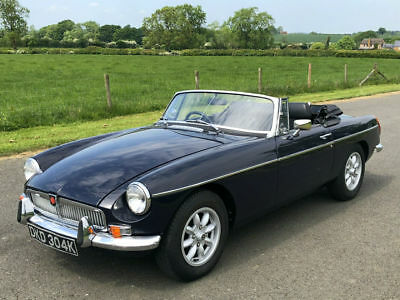 1972 MGB Roadster. Manual / Overdrive. Factory Gold Seal Engine