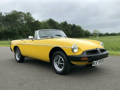 1978 MGB Roadster Manual  /Overdrive. Last Owner 18 Years. Hard Top
