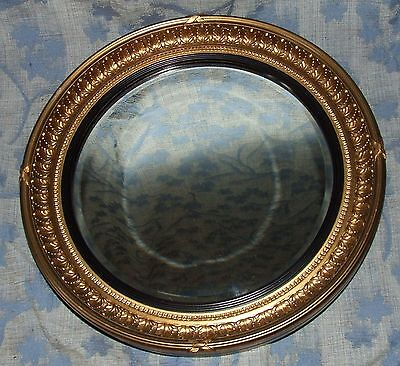 Antique Style Decorative Gilded Bevelled Glass Mirror (7)