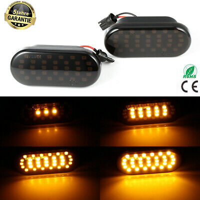 Dynamische LED Seitenblinker Blinker VW Bora Golf 3 4 Passat 3BG Polo SB6 Sharan