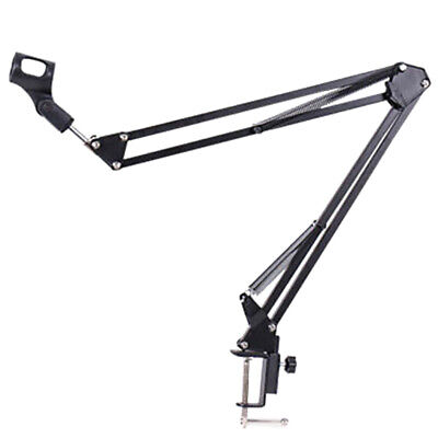 Neewer Broadcast Studio Microphone Suspension Boom Scissor Arm Stand Table Mount