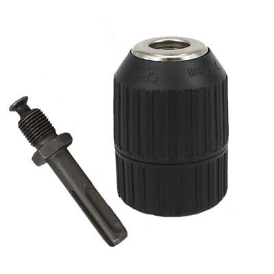 13mm Keyless Drill Chuck with SDS Tool 2pcs Adapter 2-13mm New Hot Sale Useful