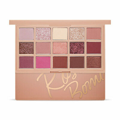 [ETUDE HOUSE] Play Color Eye Palette #Rose Bomb 1g x 14 / 0.7g x 1 Rinishop