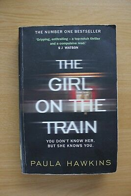 The Girl on the Train by Paula Hawkins (Paperback, 2015) used thriller fiction