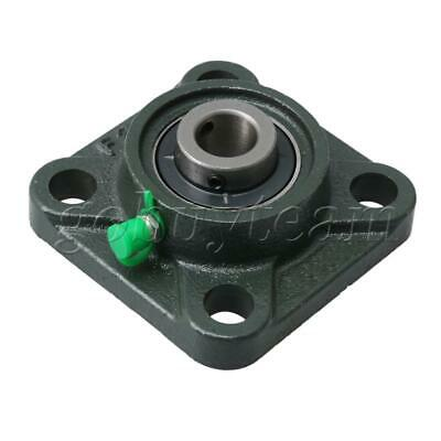 UCF202 15mm Dia Square Flange Bearing Housing for Mounting Fixed Bear