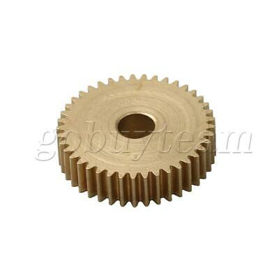 Cylinder Type 41 Teeth Brass Motor Copper Gear 0.5Module 22mm Tip Circle