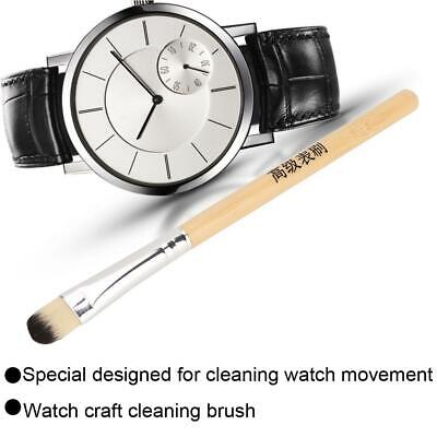 Wooden Handle Watches Jewelry Cleaning Brush Clean & Remove Rust Dirt Tools 1pcs