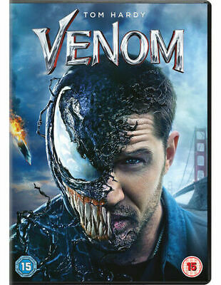 Venom DVD (2018) NEW