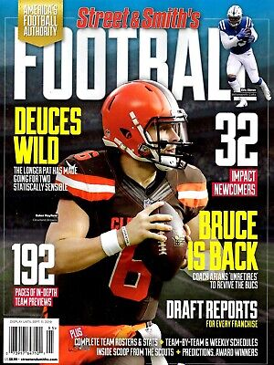 Street & Smith's Magazine 2019 NFL Pro Football Cleveland Browns BAKER MAYFIELD