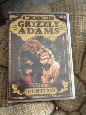 The Life and Times of Grizzly Adams - 8 Disc DVD Set - Dan Haggerty - Rare Item!