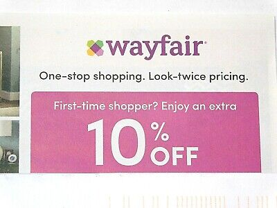 Wayfair Coupon - 10% Off - Expires 8-31-2019