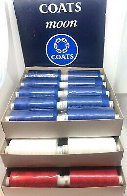 Moon 120's Sewing/overlock thread by Coats 10 x1000y cops all colours available