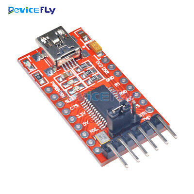 1/2/5/10 FT232RL USB to TTL Serial Converter Adapter Module 5V 3.3V For Arduino