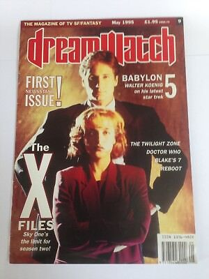 Dreamwatch magazine FIRST ISSUE inc X-Files, Babylon 5, Dr Who, Blakes 7 + more