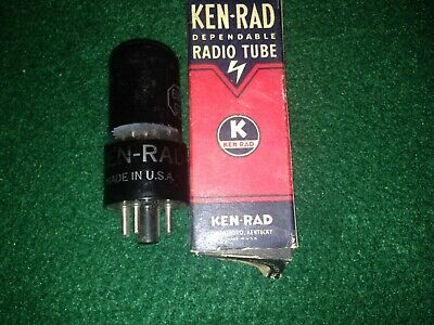 NOS Ken Rad 6V6GT by GE TV7 Tested new in original box new old stock