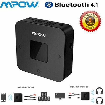 Mpow 2in1 Wireless Bluetooth5.0 Transmitter Receiver Audio Adpater Optical aptX