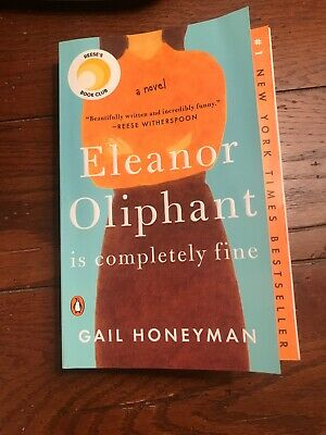 Eleanor Oliphant is Completely Fine paperback bookclub Book Club
