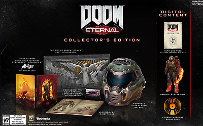 Doom Eternal Collector's Edition PC + Doomguy Helmet Bethesda