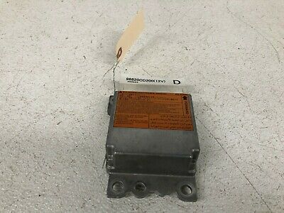 04 05 06 Nissan 350Z Convertible Srs Airbag Module Unit Computer Lot2108