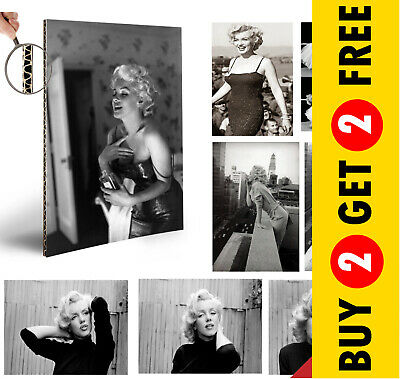 Marilyn Monroe ICON CELEBRITY VINTAGE A4 POSTERS  DECOR GLOSSY PHOTO ART PRINT