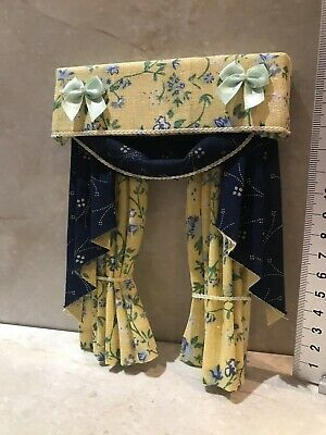 Dolls House Luxury curtains  12th Scale