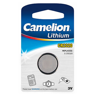 25-pack CR2320 Camelion 3 Volt Lithium Coin Cell Batteries