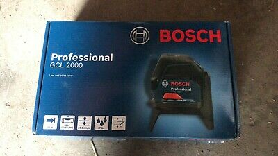 Bosch gcl 2000 line and point self levelling lazer