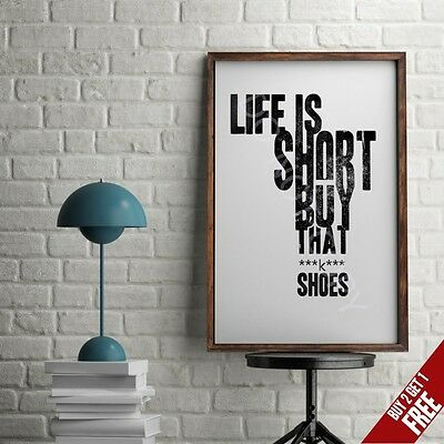 89d15c25f0e84 GOOD VIBES ONLY Poster Typography Print Wall Art Gift Motivational ...