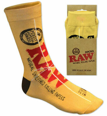 RAW  SOCKS for your FEET! Classic King Size Slim Design ONE PAIR